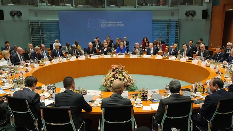 Συμφωνία στο Βερολίνο για τη Λιβύη
