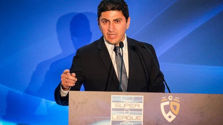 Το μήνυμα του Αυγενάκη για τη συνάντηση των «Big 4» του ελληνικού ποδοσφαίρου