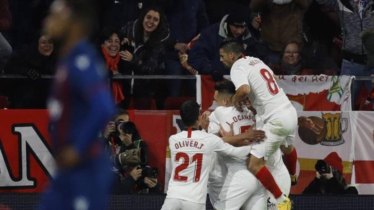 Copa del Rey: Προκρίθηκε η Σεβίλλη, 3-1 τη Λεβάντε