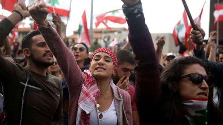 Ξανά στους δρόμους οι αντικυβερνητικοί διαδηλωτές του Λιβάνου