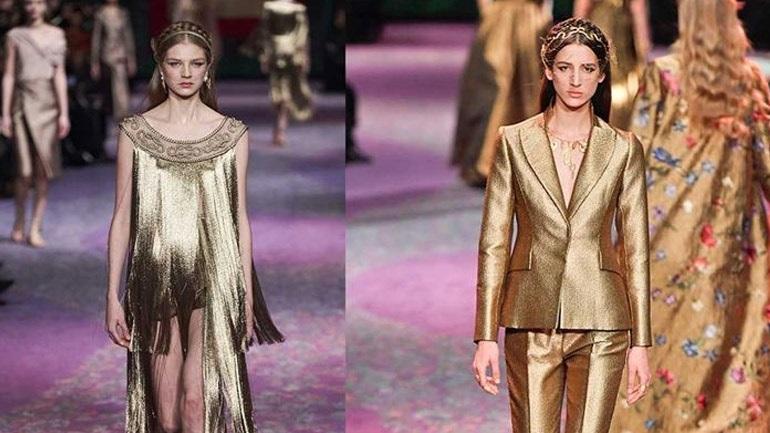 Δείτε τα πιο εντυπωσιακά head pieces από το show του οίκου Dior