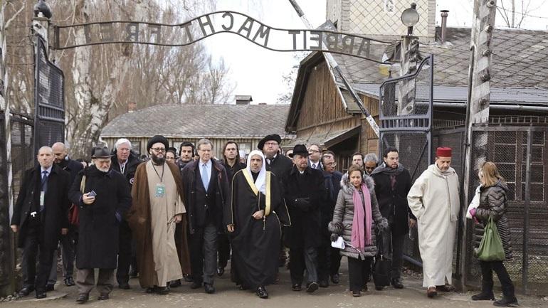 Επίσκεψη Μουσουλμάνων και Εβραίων θρησκευτικών αξιωματούχων στο Άουσβιτς