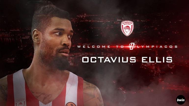 Μπάσκετ: Στον Ολυμπιακό και επίσημα ο Οκτάβιους Έλις