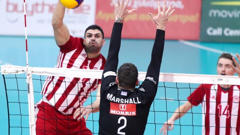Volley League: Στον Ολυμπιακό το ντέρμπι, 3-1 τον ΠΑΟΚ