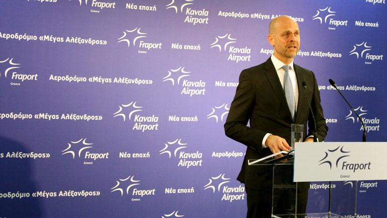 Fraport: Η ανακαίνιση του αεροδρομίου της Καβάλας προοιωνίζει ανάπτυξη