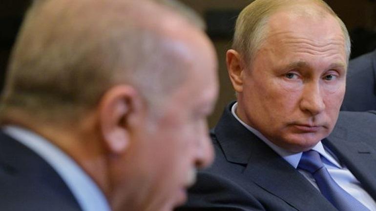 Ερντογάν προς Μόσχα: «Χάνουμε την υπομονή μας με τους βομβαρδισμούς στη Συρία»