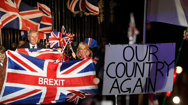 Aποχαιρέτισε την Ευρώπη η Βρετανία