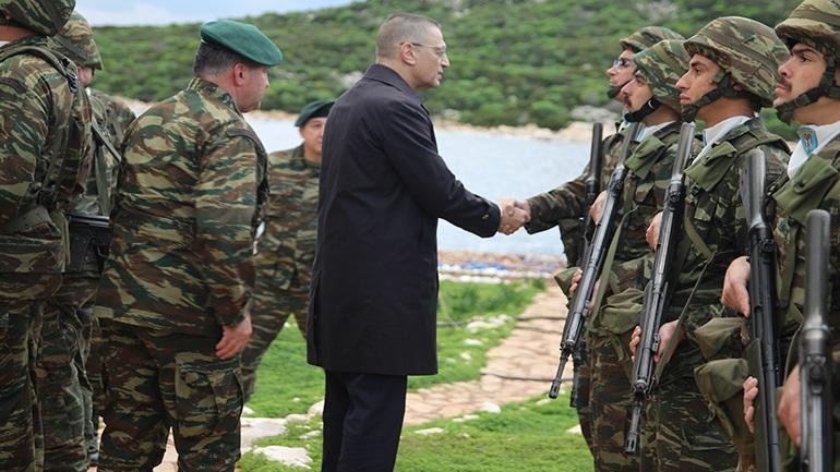 Επίσκεψη ΥΦΕΘΑ Αλκιβιάδη Στεφανή στη Λέσβο, στη Χίο και στη Σάμο