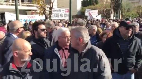 Πολίτες Μόριας Καταγγελία κατά βουλευτών για το σημερινό συλλαλητήριο