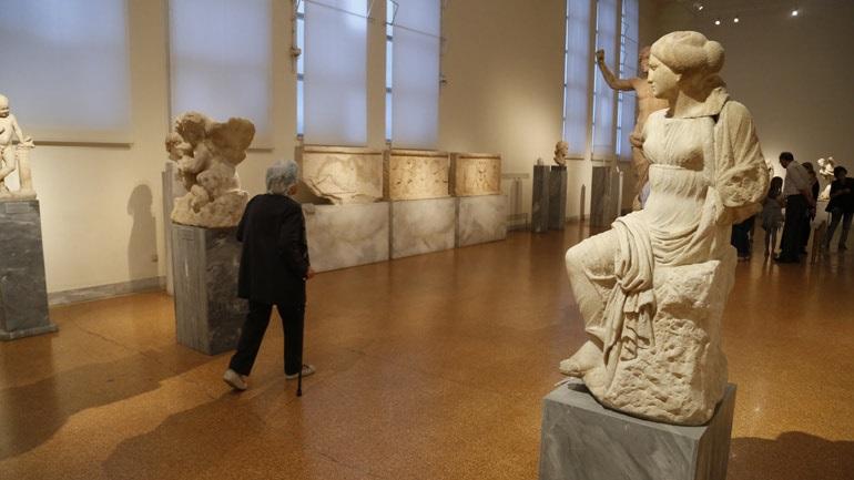 Μειώθηκαν οι επισκέπτες στα μουσεία τον Οκτώβριο