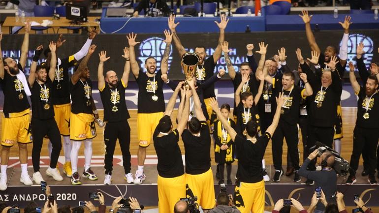 Κατάκτησε το Κύπελλο Ελλάδας η ΑΕΚ, 61-57 τον Προμηθέα