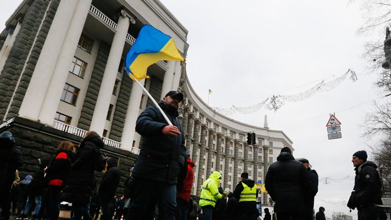 Ουκρανία: Κινητοποιήσεις εναντίον του επαναπατρισμού πολιτών από την Κίνα