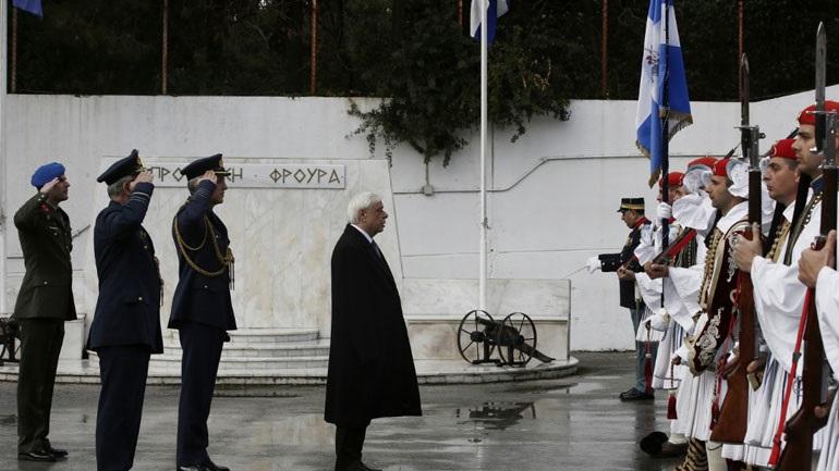 Παρουσία του Προέδρου της Δημοκρατίας τελέστηκε τρισάγιο στη μνήμη του εύζωνα οπλίτη Θωμά Σπυρίδωνος