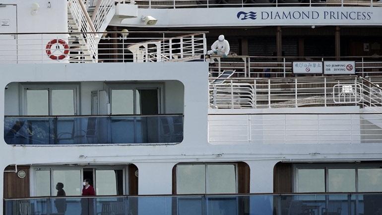 Κορωνοϊός: Μολύνθηκαν δύο Αυστραλοί επιβάτες του κρουαζιερόπλοιου Diamond Princess