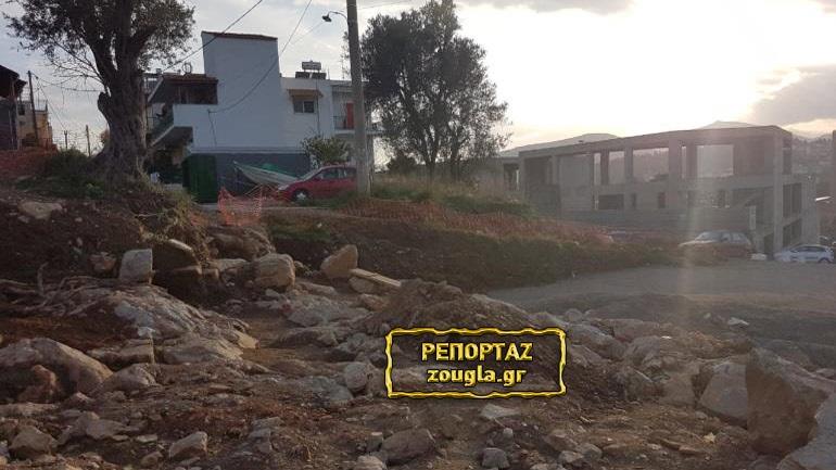 Χαλκίδα: Καταστρέφουν αρχαιότητες για να κατασκευαστεί δρόμος με υπογραφή του Υπ. Πολιτισμού