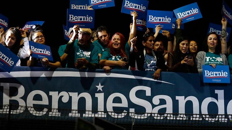 ΗΠΑ: Μεγάλη νίκη Σάντερς στην Νεβάδα