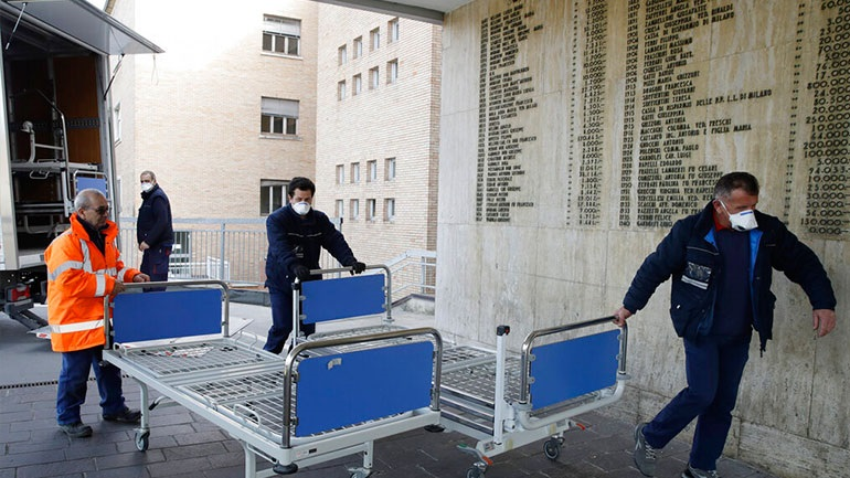 Κορωνοϊός: Περισσότερα από 100 κρούσματα στην Ιταλία