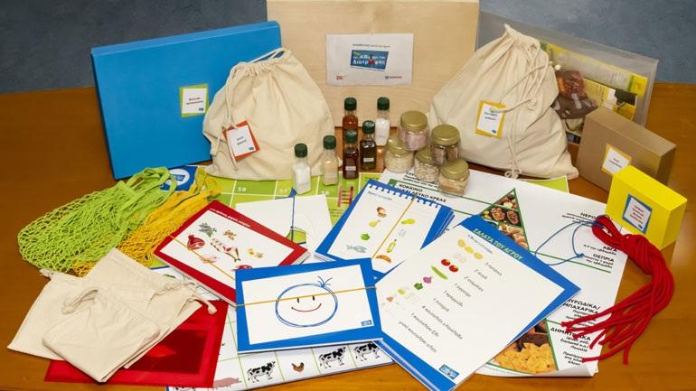 Η Υγιεινή Διατροφή η προστασία του Περιβάλλοντος γίνονται τώρα παιχνίδι και για μαθητές με αναπηρία