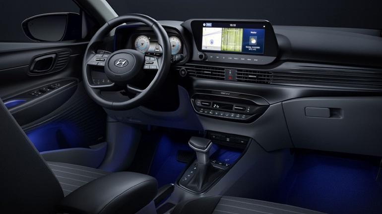 Εντυπωσιάζει το εσωτερικό του Hyundai i20