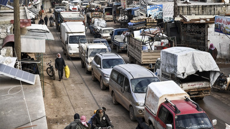OHE: Ένα εκατομμύριο οι εκτοπισμένοι από το Ιντλίμπ