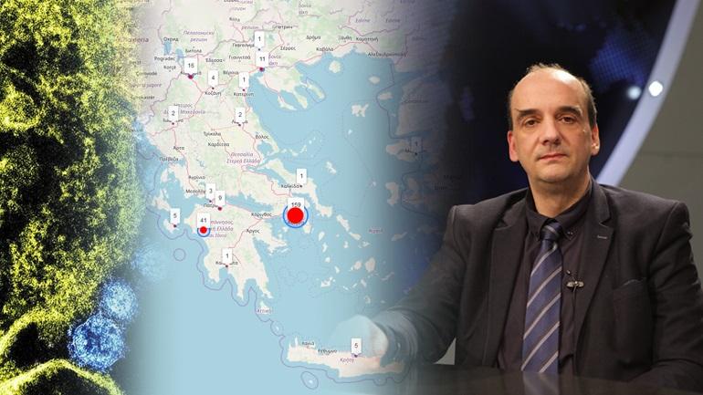 """""""Πλασματικά τα κρούσματα κορωνοϊού στην Ελλάδα"""""""