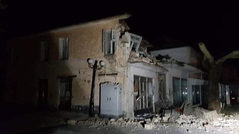 Ισχυρή σεισμική δόνηση 5,6R στην Πάργα - Υλικές ζημιές στο Καναλλάκι Πρέβεζας