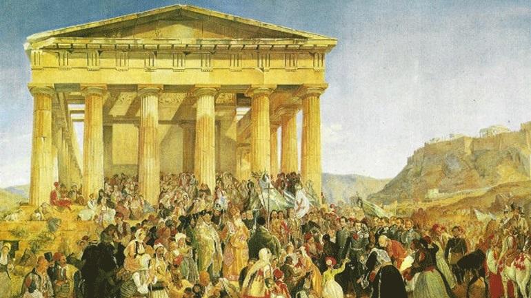 Ο πρώτος εορτασμός της 25ης Μαρτίου