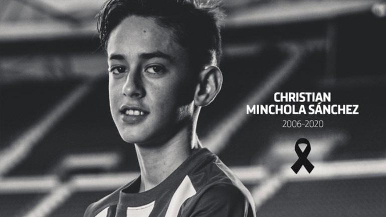 «Έφυγε» 14χρονος παίκτης της Ατλέτικο Μαδρίτης
