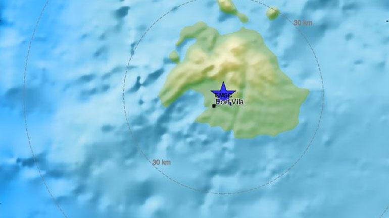 Σεισμός 5,9 Ρίχτερ στο Βανουάτου