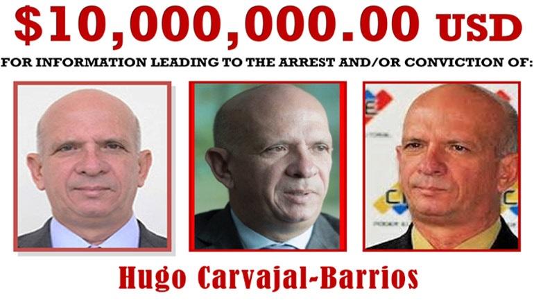 Βενεζουέλα: Πρώην στρατηγός που κατηγορείται για «ναρκοτρομοκρατία» θα παραδοθεί στις ΗΠΑ