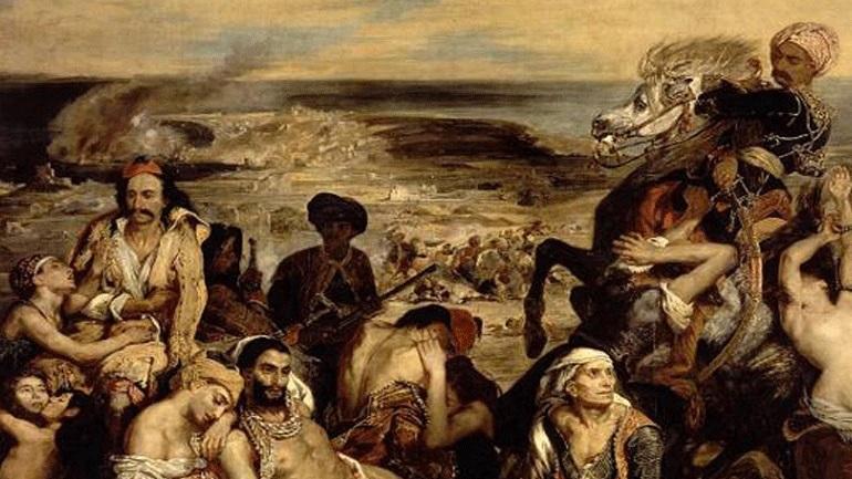 Η καταστροφή της Χίου - Οι θηριωδίες των Οθωμανών και τα σκλαβοπάζαρα