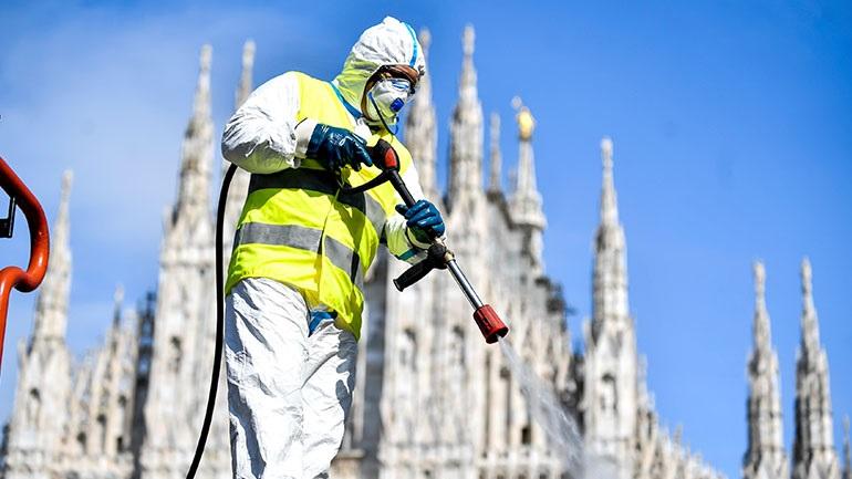 Στα 4.053 τα νέα κρούσματα κορωνοϊού στην Ιταλία - 837 νεκροί σε μία ημέρα