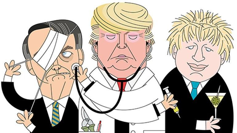 Υπάρχει κάτι πολύ χειρότερο από τον κορωνοϊό: Ο Τραμπ, ο Τζόνσον και ο Μπολσονάρου