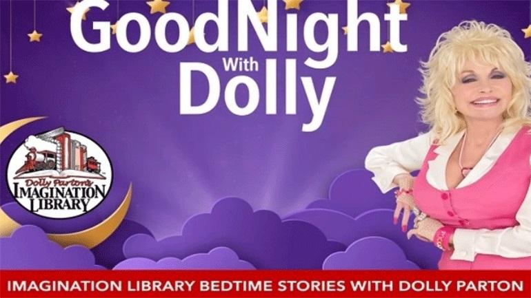 Η Ντόλι Πάρτον θα διαβάζει βιβλία σε παιδιά στη νέα σειρά «Goodnight with Dolly»