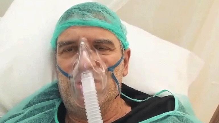 Το μήνυμα του Σωτήρη Γεωργούντζου μέσα από το νοσοκομείο: «Είμαι καλά σας ευχαριστώ»