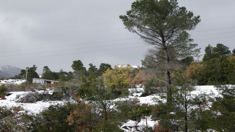 Δευτέρα: Χαμηλές για την εποχή θερμοκρασίες -  Τοπικές βροχές και χιόνια ακόμη και στην Πάρνηθα