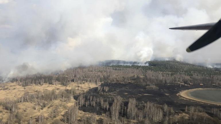 Φωτιά κοντά στο Τσερνόμπιλ προκαλεί αύξηση της ραδιενέργειας