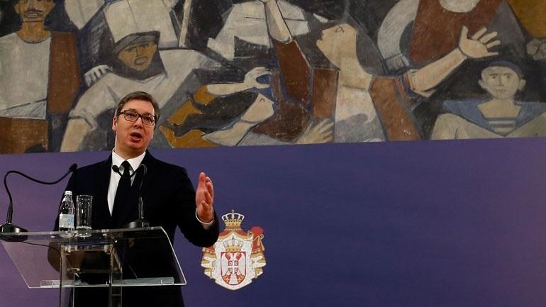 Covid-19: Στους 65 οι νεκροί στη Σερβία - Βρέθηκε θετικός και ο γιος του προέδρου Βούτσιτς