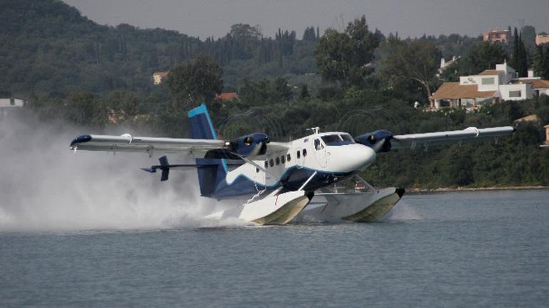 Ακάθεκτη η Hellenic Seaplanes: Η επέλαση της πανδημίας δεν κόβει τα φτερά των υδροπλάνων