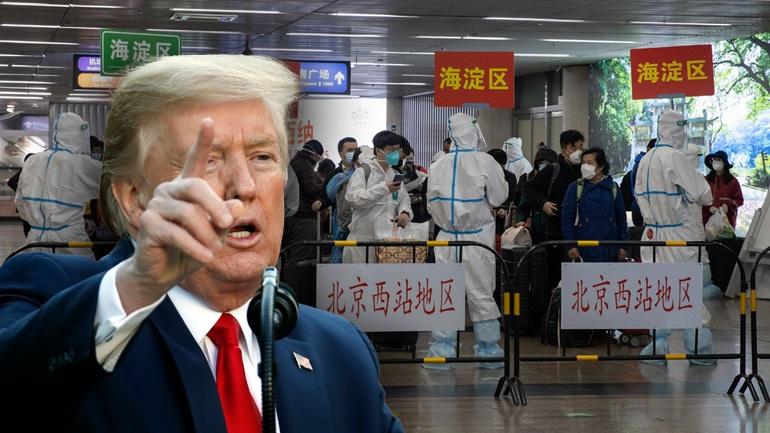 Ο Τραμπ απειλεί με αγωγή την Κίνα για τον Covid-19