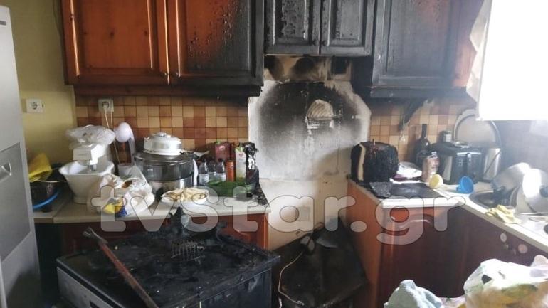 Εύβοια: Με σοβαρά εγκαύματα 47χρονη από φωτιά στο σπίτι της