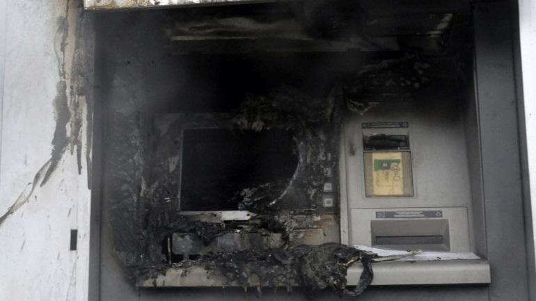 Θεσσαλονίκη: Έκρηξη σε ΑΤΜ στα Λαγυνά