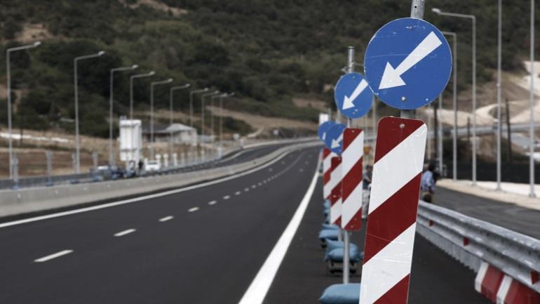 Προσωρινές κυκλοφοριακές ρυθμίσεις στον ανισόπεδο κόμβο Αντιρρίου της «Ιονίας Οδού»