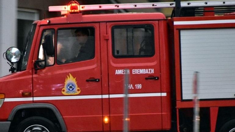 Πυρκαγιά σε κατάστημα ένδυσης στη Λυκόβρυση