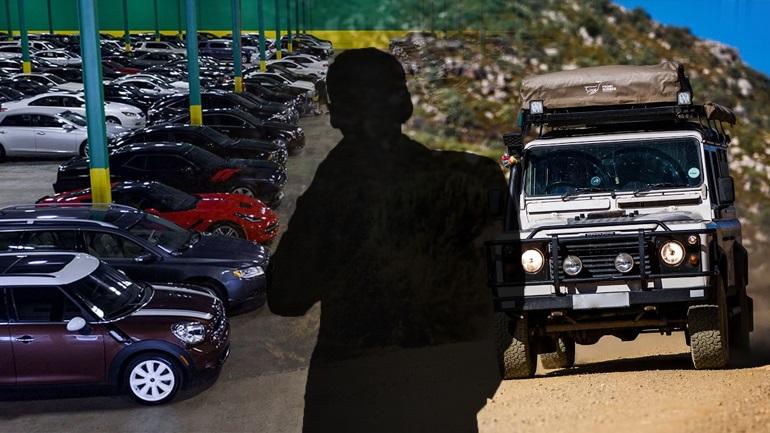 Προσαγωγή γνωστού δημοσιογράφου με κλεμμένο Land Rover