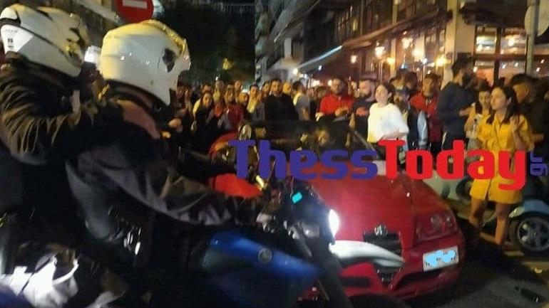 Θεσσαλονίκη: Ένταση σε πάρτι με take away ποτά  - Επέμβαση της Αστυνομίας