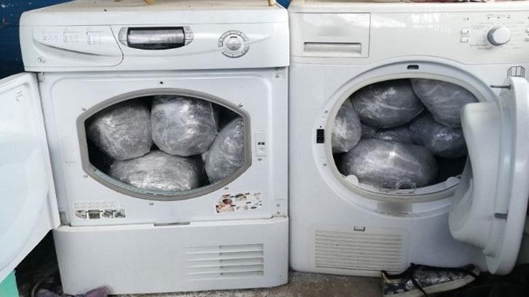 Θεσσαλονίκη: Έκρυβαν ναρκωτικά σε κάδους στεγνωτηρίων ρούχων
