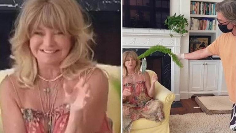 #laughingchallenge: H Goldie Hawn μόλις παρουσίασε το καλύτερο challenge της καραντίνας