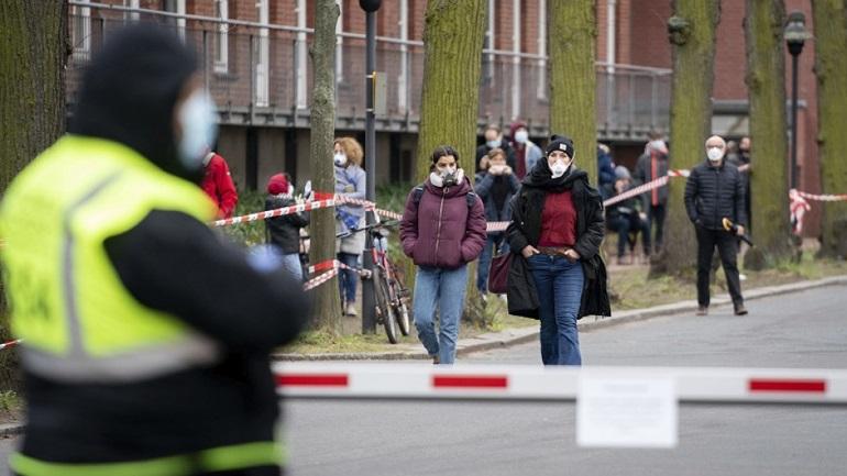 Στους 45 οι νεκροί από κορωνοϊό στη Γερμανία το τελευταίο 24ωρο