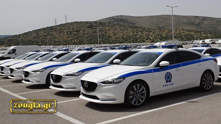 Στην υπηρεσία της ΕΛ.ΑΣ. 15 Mazda 6 με κινητήρα 2.2 λίτρων και 184 ίππους